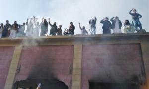 14 arrested for destroying Hindu shrine in KP's Karak