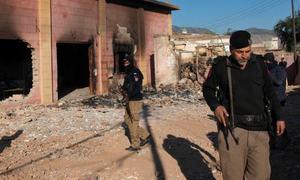 کرک: ہندو بزرگ کی سمادھی میں توڑ پھوڑ، جے یو آئی (ف) رہنما سمیت 31 افراد گرفتار