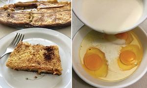Cook-it-yourself: Baked French toast