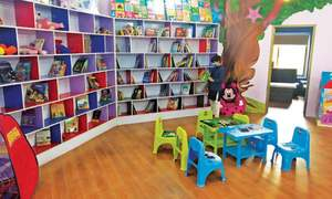 Faisalabad kids get a library of their own