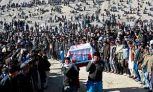 کوئٹہ: مچھ میں قتل کیے گئے کان کنوں کی تدفین کردی گئی