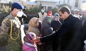 PM Imran visits Quetta, meets families of slain Hazara miners