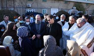 وزیر اعظم عمران خان کی کوئٹہ آمد، سانحہ مچھ کے لواحقین سے ملاقات