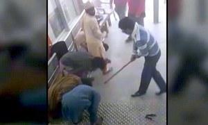 اورنج لائن کی خاتون سمیت عملے کا مزدوروں پر بہیمانہ تشدد، 5 اہلکار گرفتار