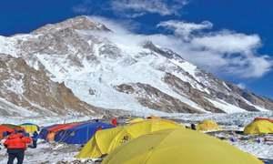 Nepali Sherpas break winter record in quest to climb K2