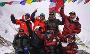 نیپالی کوہ پیماؤں نے سردیوں میں 'کے ٹو' سَر کرکے تاریخ رقم کردی