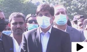 'محمود آباد نالے پر انسداد تجاوزات آپریشن میں عوام نے تعاون کیا'