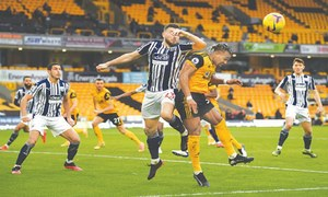 West Brom hit back to tame Wolves in seesaw derby