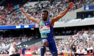 Zango breaks indoor triple jump record