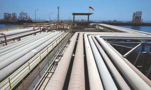 Body formed to examine gas supply chain
