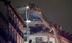 Three die as gas blast rocks Madrid