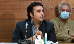 Only option before PM is to step down, says Bilawal