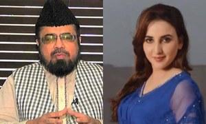 حریم شاہ تنازع: مفتی عبدالقوی کو چچا نے 'ذہنی مریض' قرار دے دیا