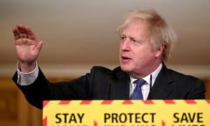 British prime minister says evidence UK virus strain more deadly