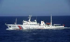 چین نے کوسٹ گارڈز کو غیر ملکی کشتیوں کو نشانہ بنانے کی اجازت  دے دی