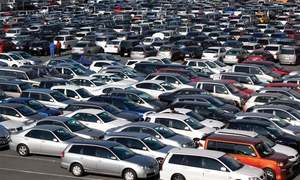 Car prices soar amid rising auto-part imports