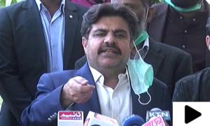 'علی زیدی کراچی کے مسائل پر پوائنٹ اسکورنگ کررہے ہیں'
