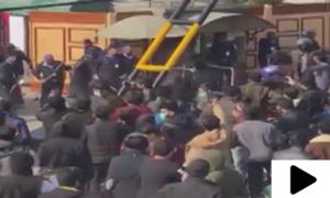 لاہور میں طلبہ کا معمول کے امتحانات کے خلاف احتجاج