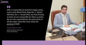 Bringing Back Karachi's Flowers