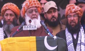 ناجائز حکومت کو کشمیریوں کے مستقبل کا فیصلہ کرنے کا حق نہیں، مولانا فضل الرحمٰن