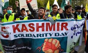 تصاویر: یوم یکجہتی کشمیر