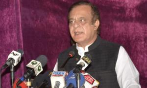 No backdoor deal struck with Zardari, claims Shibli