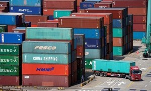 Trade deficit swells to $14.96bn in 7MFY21