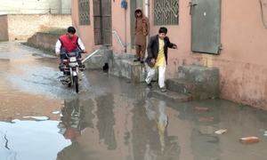 13 streets submerged in sewage after railways block drainage