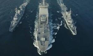 کثیر الملکی بحری مشق امن 2021 کا خصوصی نغمہ 'امن کی پکار' جاری