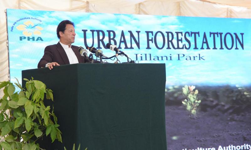 Imran asks nation to help reverse smog