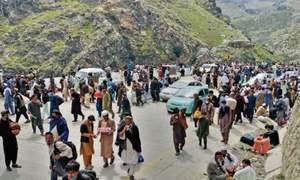 Torkham border opens to pedestrians