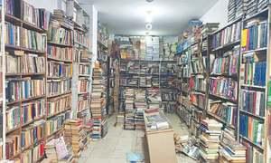 Nostalgic scent of old books