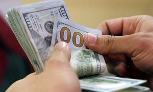 Rupee hits 3-month high vs dollar