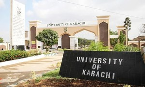 KU teachers protest alleged beating of faculty member by IBA students, guards