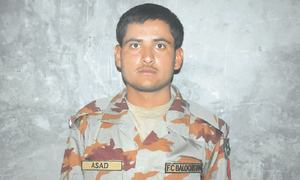 Soldier martyred in attack on FC check post