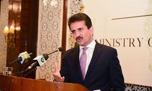 'مقبوضہ کشمیر میں سفارتکاروں کے دورے سے متعلق بھارت کا مؤقف مسترد کرتے ہیں'