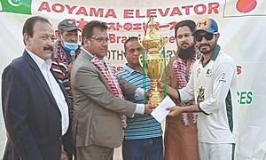 Touheed spins Rangoonwala to CT T20 crown