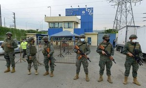 ایکواڈور: جیل فسادات میں کم از کم 75 قیدی ہلاک