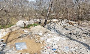 CDA ignores dumping of debris in green areas