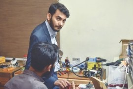 Meet the 23-year-old entrepreneur who was Pakistan's first Covid-19 patient
