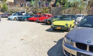 Vintage car rally held to promote tourism