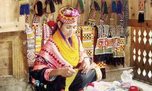 Kalash handicrafts gaining popularity among tourists