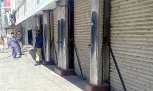 Strike observed in Balochistan over ANP leader's killing