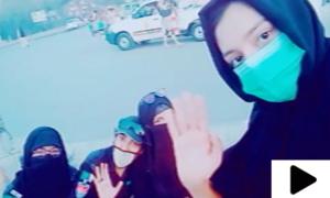 کراچی: خواتین پولیس اہلکاروں کو ٹک ٹاک پر پاوری ویڈیو بنانا مہنگا پڑ گیا