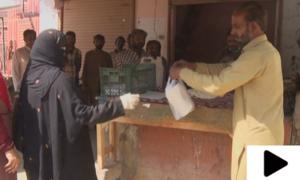 کراچی میں 15 روپے کی روٹی 5 روپے میں دستیاب