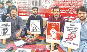 Restoration of students' unions demanded