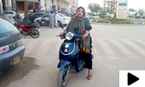 کراچی کی خاتون نے تندور لگا کر مالی مشکلات کا حل تلاش کرلیا