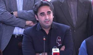 'Beginning of the end': No one can save govt now, says Bilawal