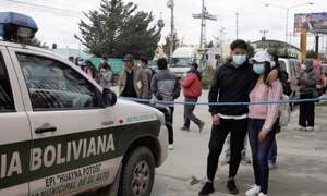 بولیویا: یونیورسٹی میں ریلنگ ٹوٹنے کے باعث گرنے سے 7 طلبہ ہلاک