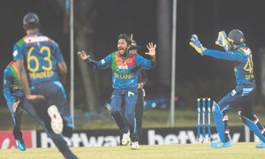 Pollard blasts six sixes off hat-trick man Dananjaya